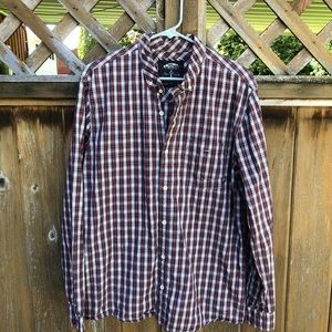 VANS x Johnny Layton plaid button down